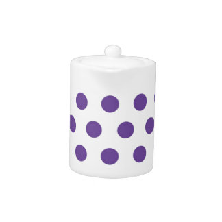 紫色の水玉模様のお祝い