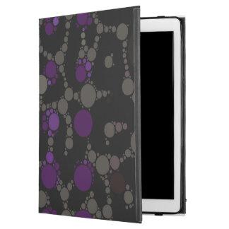 """紫色の水玉模様のチータ iPad PRO 12.9"""" ケース"""