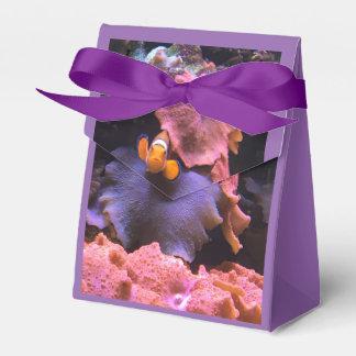 紫色の水生生命ギフト用の箱 フェイバーボックス