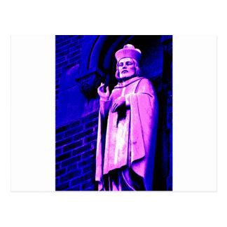 紫色の法皇 ポストカード