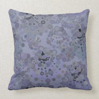 紫色の泡枕 クッション