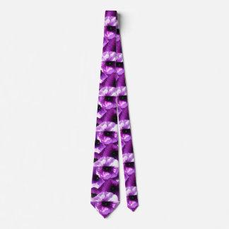 紫色の波のペチュニアの列 カスタムタイ
