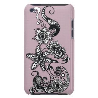 紫色の流れ Case-Mate iPod TOUCH ケース