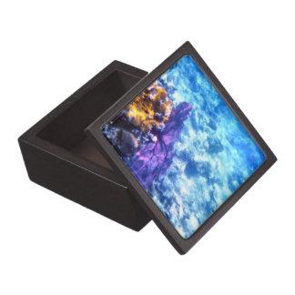 紫色の海ファンの優れたギフト用の箱 ギフトボックス
