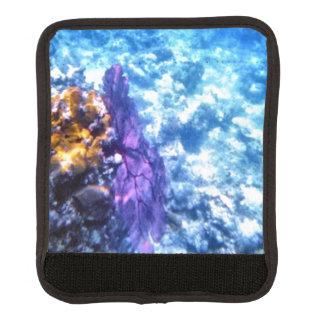 紫色の海ファン ラゲッジ ハンドルラップ