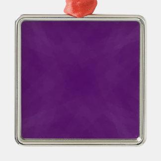 紫色の渦巻 メタルオーナメント