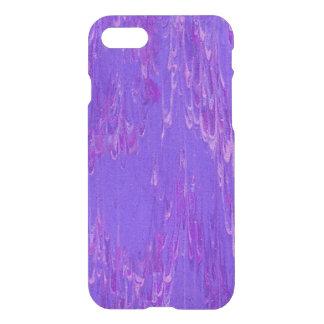 紫色の溶岩 iPhone 8/7 ケース