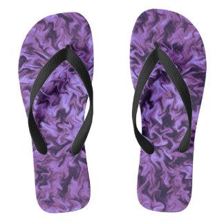 紫色の火 ビーチサンダル