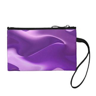 紫色の炎の抽象美術 コインパース