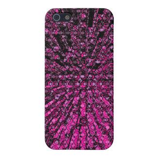 紫色の無秩序の宇宙のデザイン iPhone 5 カバー