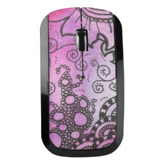 紫色の無線マウス ワイヤレスマウス