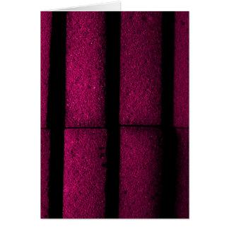 紫色の煉瓦 カード