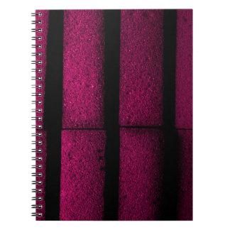 紫色の煉瓦 ノートブック