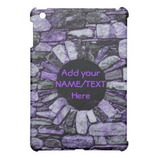 紫色の煉瓦iPadの箱を個人化して下さい iPad Miniケース