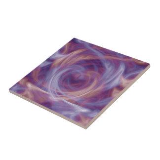 紫色の煙のタイル タイル
