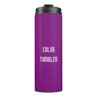 紫色の熱タンブラー タンブラー