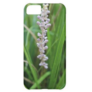 紫色の熱狂するな花 iPhone5Cケース