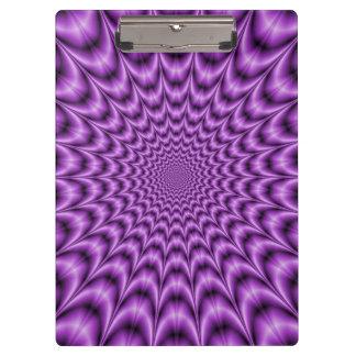 紫色の爆発性のくもの巣 クリップボード