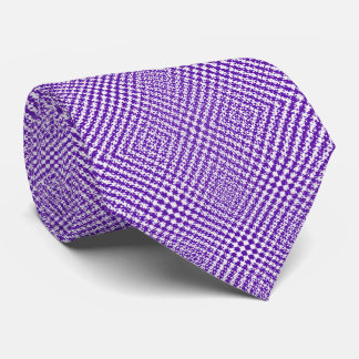 紫色の白いヘリンボンパターン(の模様が)ある オリジナルタイ