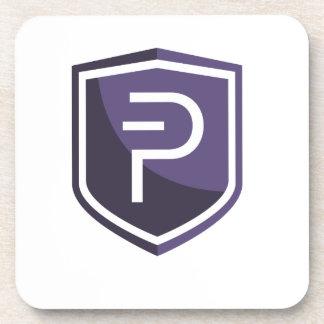 紫色の盾PIVX コースター