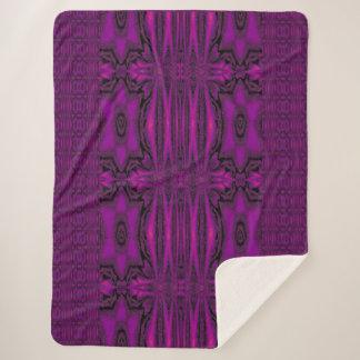 紫色の砂漠の歌1 シェルパブランケット