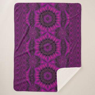 紫色の砂漠の歌24 シェルパブランケット