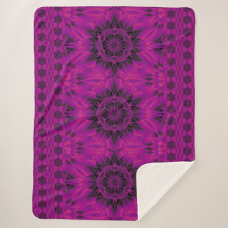 紫色の砂漠の歌31 シェルパブランケット