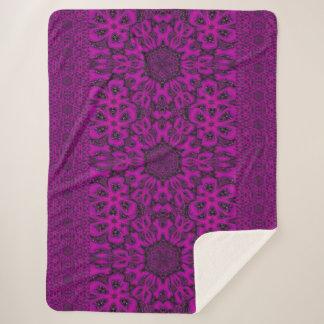 紫色の砂漠の歌38 シェルパブランケット
