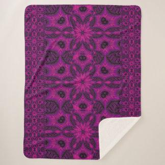 紫色の砂漠の歌41 シェルパブランケット