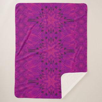 紫色の砂漠の歌45 シェルパブランケット