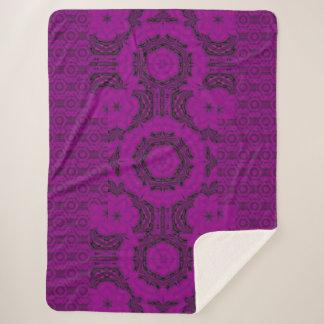 紫色の砂漠の歌48 シェルパブランケット