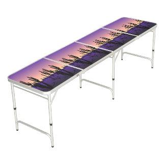 紫色の砂漠 ビアポンテーブル