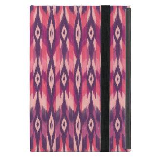 紫色の種族のイカット iPad MINI ケース