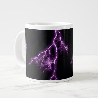 紫色の稲妻 ジャンボコーヒーマグカップ