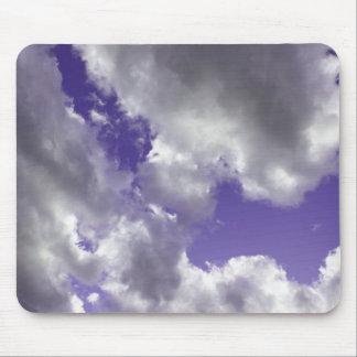 紫色の空はマウスパッドを曇らせます マウスパッド