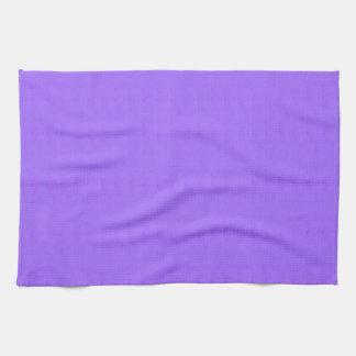 紫色の空白のな質のテンプレートDIYは文字のイメージを加えます キッチンタオル