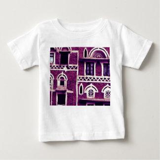 紫色の窓 ベビーTシャツ