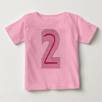 紫色の第2 ベビーTシャツ