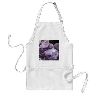 紫色の精神的な紫色の宝石用原石 スタンダードエプロン