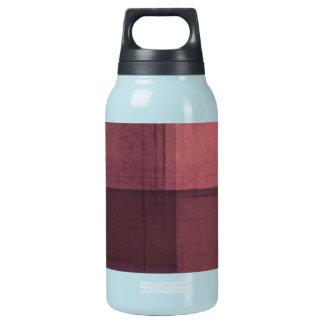 紫色の紙の一見 断熱ウォーターボトル