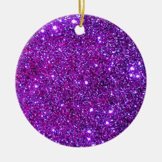 紫色の紫色の輝きの目の錯覚のオーナメント セラミックオーナメント