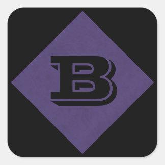 紫色の紫色色のビロードのカスタムな家のカジノ スクエアシール