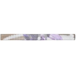 紫色の結婚式 ヘアタイ
