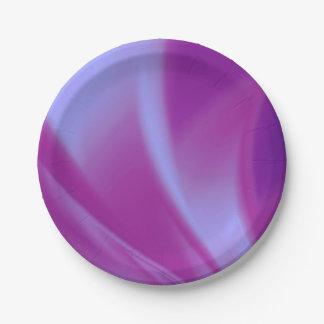 紫色の絹 ペーパープレート