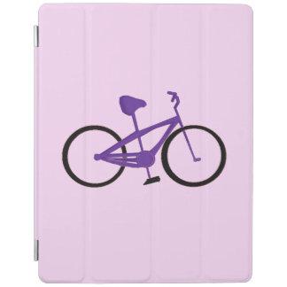 紫色の自転車 iPadスマートカバー