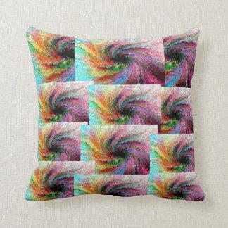 紫色の色相の枕 クッション