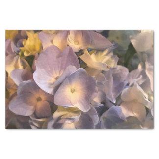 紫色の花のティッシュペーパー 薄葉紙