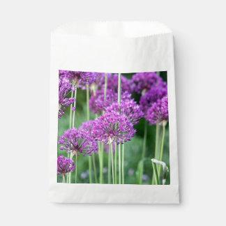 紫色の花の写真 フェイバーバッグ