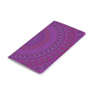 紫色の花の曼荼羅 ポケットジャーナル