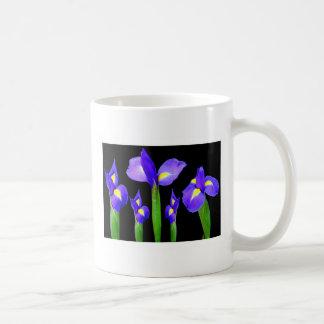 紫色の花の花花束のエレガントでロマンチックなギフト コーヒーマグカップ